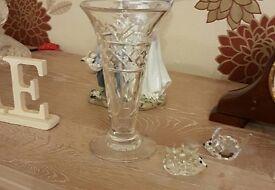 stuart crystal vase