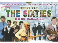Best of The 60's CD Collection (17 of 20 original Discs)