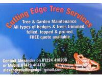 Cutting edgeTree services