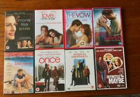 8x Romcom Romantic Comedy DVDs Bundle: The Vow, Safe Haven, Definitely Maybe...
