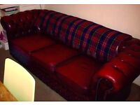 Chesterfield Sofa - Ox Blood