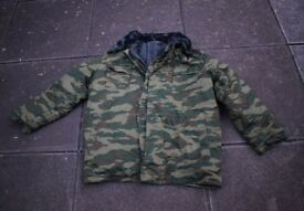 Russian Army FLORA camo Extreme Cold Weather Parka