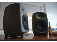 Genelec 8040b Stereo Pair Studio Monitors