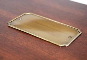 Engraving plate for Old World Wooden Treasure Box (1PCS)