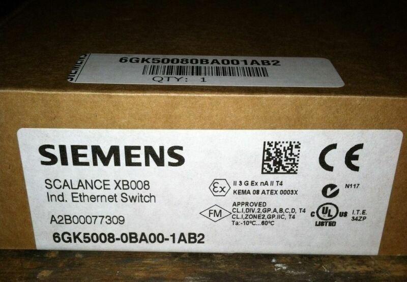 Siemens PLC Ethernet Switch - 8 port -  6GK5008-0BA00-1AB2