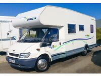 Chausson Welcome 27, 6 Berth, Only 3600 Miles, 2003
