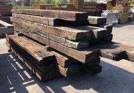 🍁 Wooden/ Timber Railway Sleepers > Used