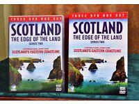 3 dvd boxed set scenic scotland.