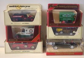 SET 4 SIX MODELS OF YESTERYEAR - BOXED