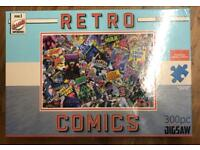 Retro comics jigsaw puzzle.