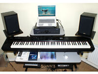 ROLAND RD300NX DIGITAL STAGE PIANO + FLIGHT CASE + PEDAL
