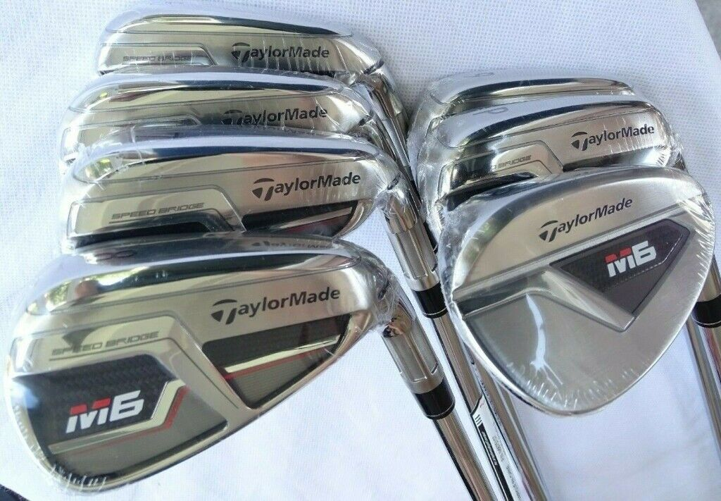 TaylorMade M6 5-SW (7) irons set with KBS MAX 85 regular flex steel shafts  2019 NEW IN THE BOX | in Newhaven, East Sussex | Gumtree