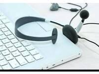Audio secretary (home based)