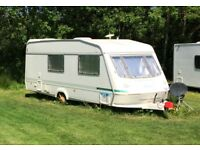 Elddis Touring Caravan and Abersoch site fees