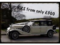 BEAUFORD WEDDING CAR HIRE LDS. CAS. PONTY. WAKE. DEWS. BRADFORD. AREAS COVERD
