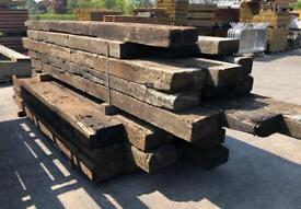 🍁 Wooden/ Timber Railway Sleepers > Used
