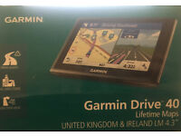 Garmin Drive 40 used once and in perfect condition.