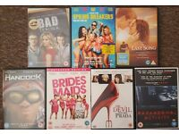 7 DVDs for £18