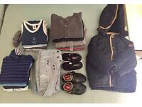 Little boy clothes bundle 18 months/2 years