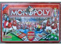 MONOPOLY ARSENAL LIMITED EDITION 2002 - BOXED AND COMPLETE