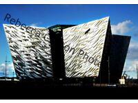 Belfast Photography Prints A4 (framed)