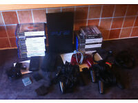 SONY PS2 AND GAMES FOR SALE