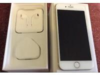 Apple iPhone 7 256 GB Unlocked Sim Free White / Gold in Pristine Unmarked Condition 256GB
