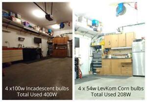 LED Shop/Garage Lighting