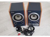 EDIROL ROLAND MA-7A Micro Powered Studio Monitor Speakers
