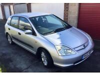 HONDA CIVIC 1.7 CDTI DIESEL FSH LOW TAX