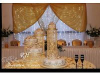 WEDDING/BIRTHDAY & ANY VENUE DECORATION ***STAGES FROM £199** RH Signature Events LTD