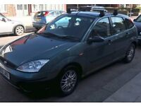 FORD FOCUS HATCHBACK FOR SALE, GOOD CONDITION, LOW MILAGE.