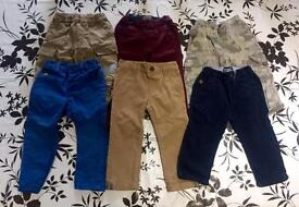 Baby boy bundle of trousers 12-18 months