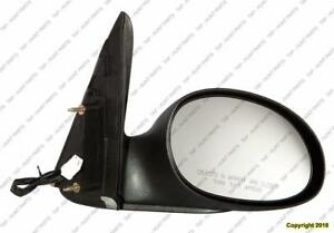 Door Mirror Power Passenger Side Non-Folding Type 2 Exclude Convertible Chrysler PT Cruiser 2004-2005