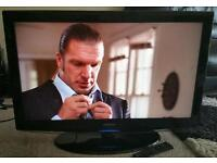 """SAMSUNG 32"""" LCD 1080p Full HD TV. Built in Freeview Excellent Condition Fully Working with Remote"""