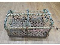 Large Vintage Lobster Pot / Creel
