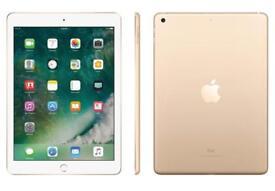 iPad 5th generation Gold like new 12 months apple warranty