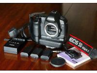 Canon 5MK11 £490 Tamron 24-70 lens £490 Canon 24-105 £390 Sigma 15-30 £§150, tripods, case, extras