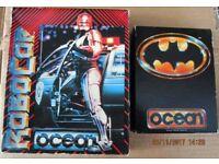 CBM 64 games Robocop and Batman