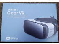 SAMSUNG GEAR VR HEADSET BRAND NEW AND BOXED