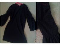 Black Dress Bell Sleeves
