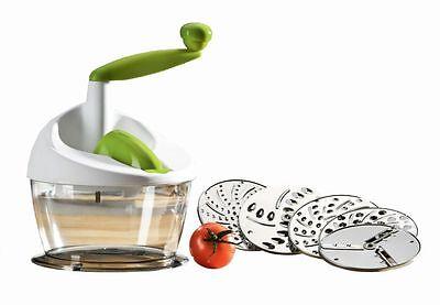 Enrico Multi Reibe Gemüseschneider Küchenmaschine Küchenreibe Julienne Hobel