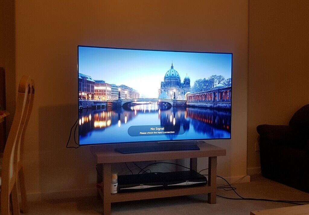 LG OLED 55 inch Curved 3D OLED55C6V 4K UHD HDR   in Hackney, London    Gumtree
