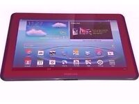 Samsung Galaxy Tab 2 red 10.1in - BOXED 302/77806/01