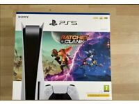 PlayStation 5 ratchet and clank bundle. Unopened