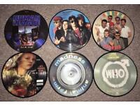 Vinyl Picture Discs (inc The Who, Madness, Hunan League)