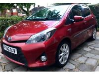"""2012 62 Toyota Yaris Hybrid """"T Spirit"""" Top Spec Fully Loaded - PANORAMIC ROOF + SAT NAV + Hpi Clear"""