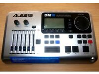 Alesis DM10 , DM 10 Drum Module for Electronic Drum Kit with 1047 Dynamic Sounds + Power Supply.