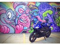 2009 Yamaha YZF R125 Blue, 125cc, Loads of mods + extras!