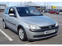 2003 Vauxhall Corsa 1.2 SXI Petrol - Ideal for new driver!